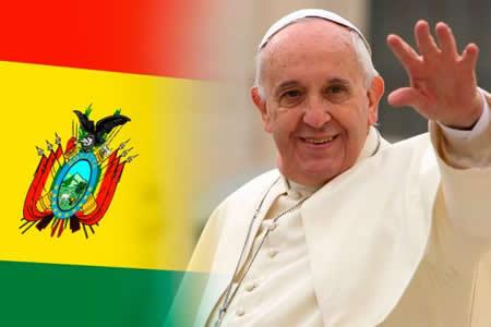 #PapaenBolivia hizo furor en las redes sociales bolivianas